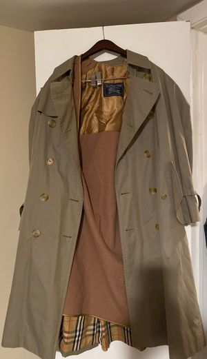 Vintage Burberry trench with liner for Sale in Newport News, VA