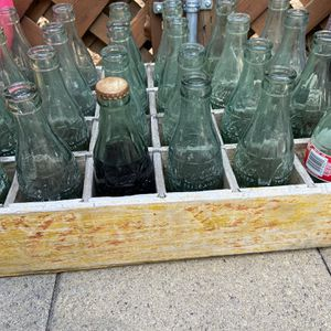Coca-Cola crate and bottles for Sale in Hayward, CA