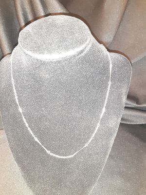 """20"""" Silver Chain Necklace for Sale in Brentwood, PA"""