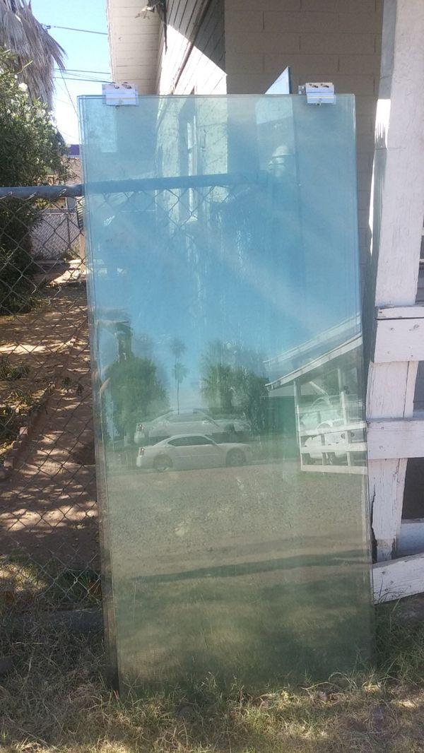 7 glass doors must pick up