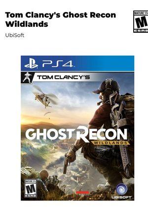 Ghost Recon Wildlife ps4 for Sale in Dallas, GA