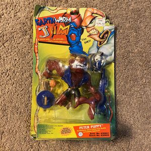 """Earthworm Jim """"Peter Puppy"""" Action Figure (2002) for Sale in Tacoma, WA"""