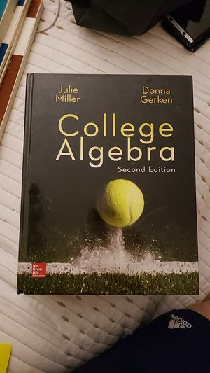 College Algebra 2nd Edition - ISBN 978-0-07-783634-4 for Sale in Plano, TX