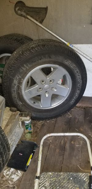Jeep wheels for Sale in Flower Mound, TX