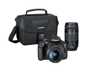 Canon EOS Rebel T7 DSLR Two Lenses for Sale in Hammond, IN