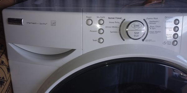 Washer kenmore with pedestal