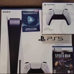 Sony PlayStation 5 Digital Edition PS5 [BRAND NEW]🍁💯 for Sale in St. Louis,  MO