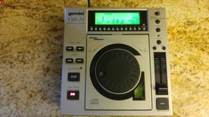 Gemini CDJ-20 PROFESSIONAL CD PLAYER for Sale in St. Louis, MO