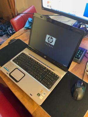 """Hp dv9000 17"""" laptop, win 10, office, 1.6ghz, 4gb ram, 128gb ssd, full keyboard, dvdrw, webcam zoom ready for Sale in Oakland, CA"""