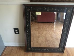 Mirrors, picture frame, set of candle holders and coffee table. PRICE REDUCED $ 250 for Sale in Monroe, NC
