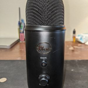 Blue Yeti Studio Microphone Black Edition for Sale in Portland, OR