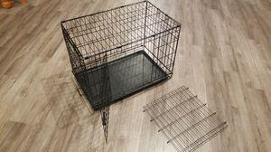 I crate dog kennel , steel, 30L x 19W x 21H for Sale in Vancouver, WA
