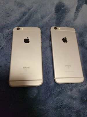 Apple iPhone 6s 128gb Fully Unlocked 180 each for Sale in Kent, WA