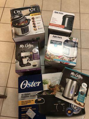 Small kitchen appliances for Sale in Detroit, MI