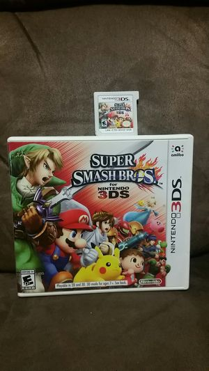 Nintendo 3DS Super Smash Bros. for Sale in BROOKSIDE VL, TX