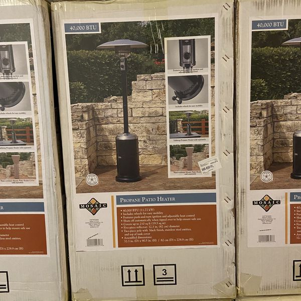 Mosaic Propane Patio Heater - Brand New In Box