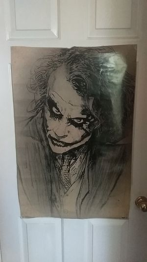 Joker poster for Sale in Victoria, TX