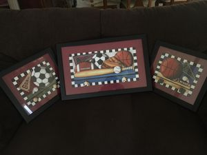 A very nice kids room decoration frames for Sale in Huntington Park, CA