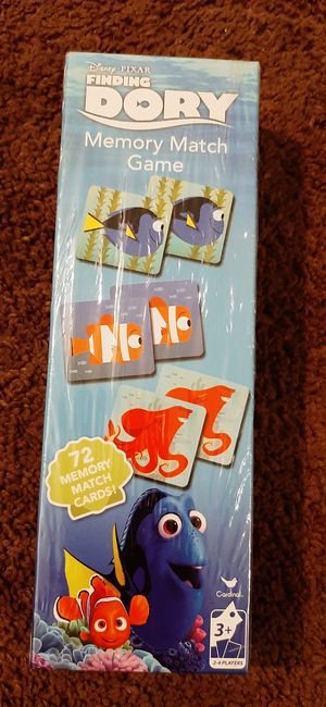 KIDS DORY DISNEY MATCHING GAME for Sale in Downey, CA