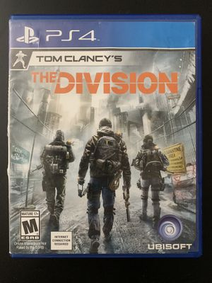 The Division - PS4 for Sale in Cary, NC