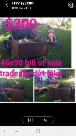Heavy duty trailer bill of sale for Sale in San Bernardino, CA