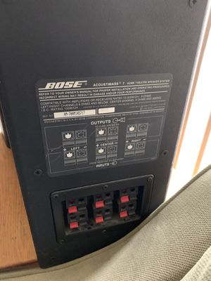 Bose Acoustimass 7. for Sale in Germantown, MD