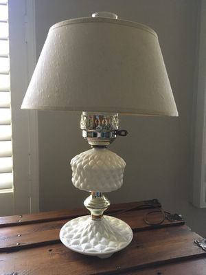 Milk Glass Vintage 1960s Lamps - PRICE REDUCED for Sale in Town and Country, MO