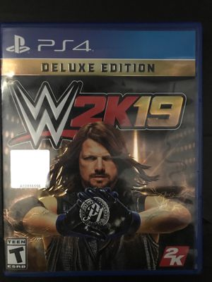 WWE2K19 PS4 for Sale in Haines City, FL