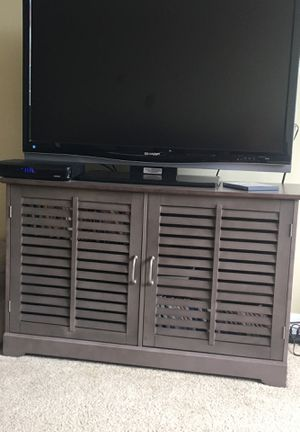 Grey TV stand for Sale in Cleveland, OH