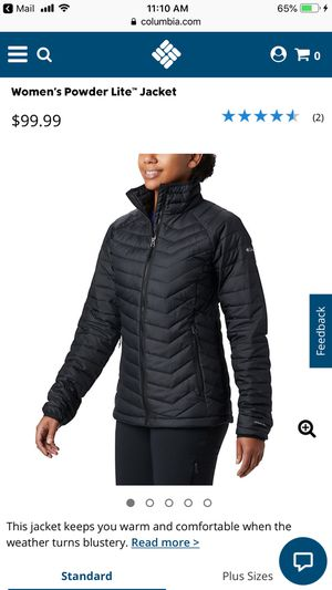 NEW W/TAGS WOMENS COLUMBIA PUFFER JACKET for Sale in Gresham, OR