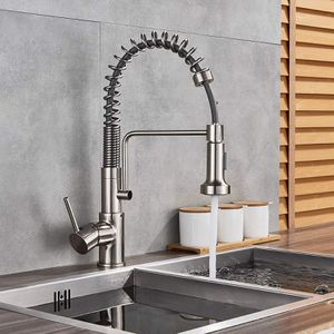 Brushed Nickel Kitchen Sink Faucet Pull out Spray for Sale in Coral Springs, FL