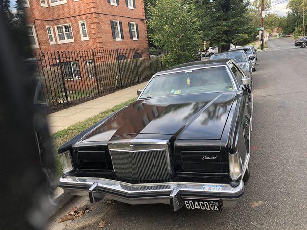 Lincoln Mark V classic 77