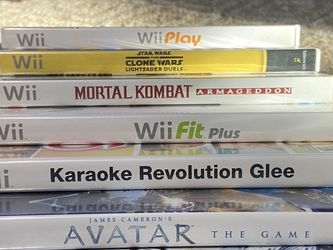 Wii Videogame Lot for Sale in Everett,  WA