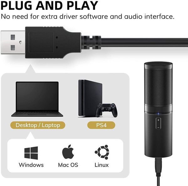 Tonor usb mic kit with stand