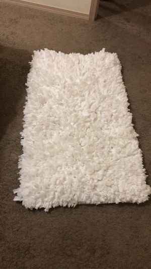 White Rug for Sale in Bryant, AR