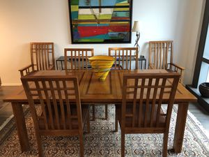 Stanley Furniture Dining table, 6 Chairs and matching Sideboard for Sale in Washington, DC