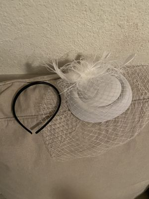 Cocktail Tea Party Hat w/veil for Sale in Jacksonville, FL