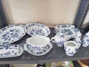 Blue Danube China Set - Onion Pattern for Sale in Tacoma, WA