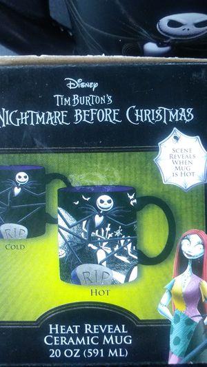 Nightmare Before Christmas ceramic mug. for Sale in Torrance, CA