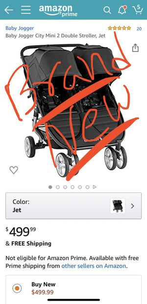 BRAND NEW, UNOPENED Double stroller (Baby Jogger City Mini 2)-$440 for Sale in San Diego, CA