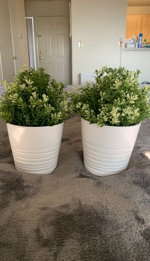 IKEA pots and plants for Sale in Pomona, CA
