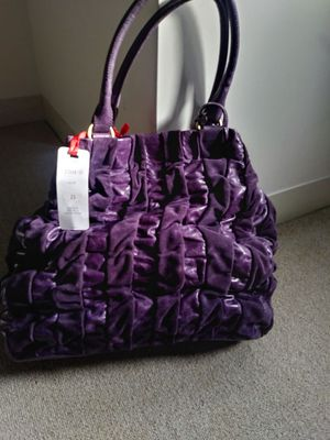 Purple Leather&Suede Bag for Sale in Boston, MA