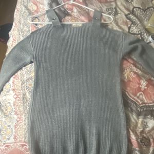 Grey Knit Off The Shoulder Sweater for Sale in Milford, CT