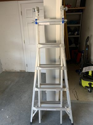 Werner 22ft Aluminum Telescoping Multi Position Ladder for Sale in Tampa, FL