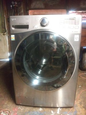 LG stainless steel washer for Sale in Indianapolis, IN