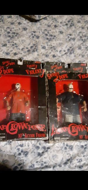 Original insane clown posse action figures in box for Sale in Columbus, OH