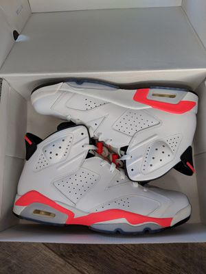 Jordan retro 6 (infared) day size 12 for Sale in Denver, CO