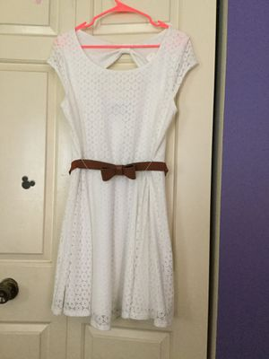 White lace dress for Sale in Chantilly, VA