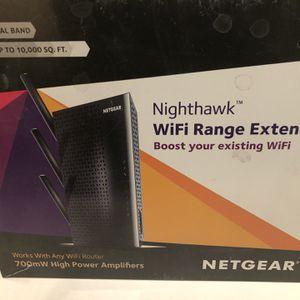 New In Box Netgear Nighthawk WiFi Range Extender Ac1900 for Sale in Las Vegas, NV