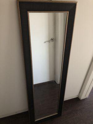 Dark chocolate / black mirror for Sale in Los Angeles, CA